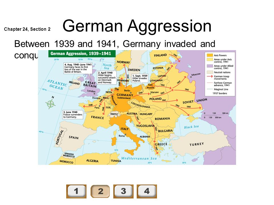 German Aggression Chapter 24, Section 2.