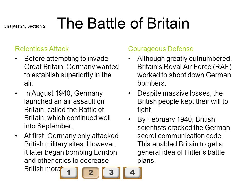 The Battle of Britain Relentless Attack
