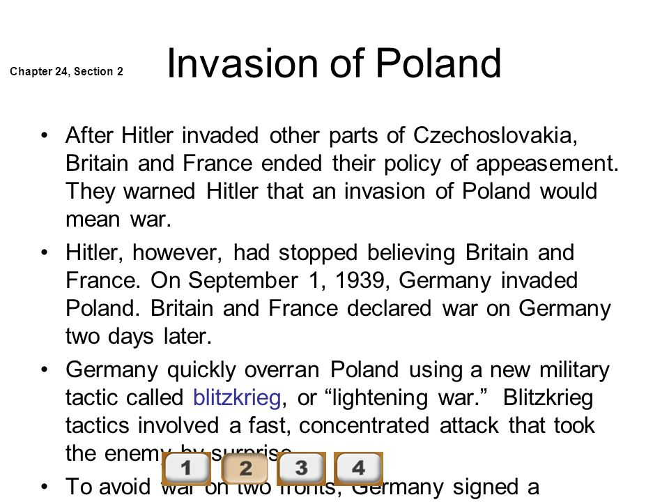 Invasion of Poland Chapter 24, Section 2.