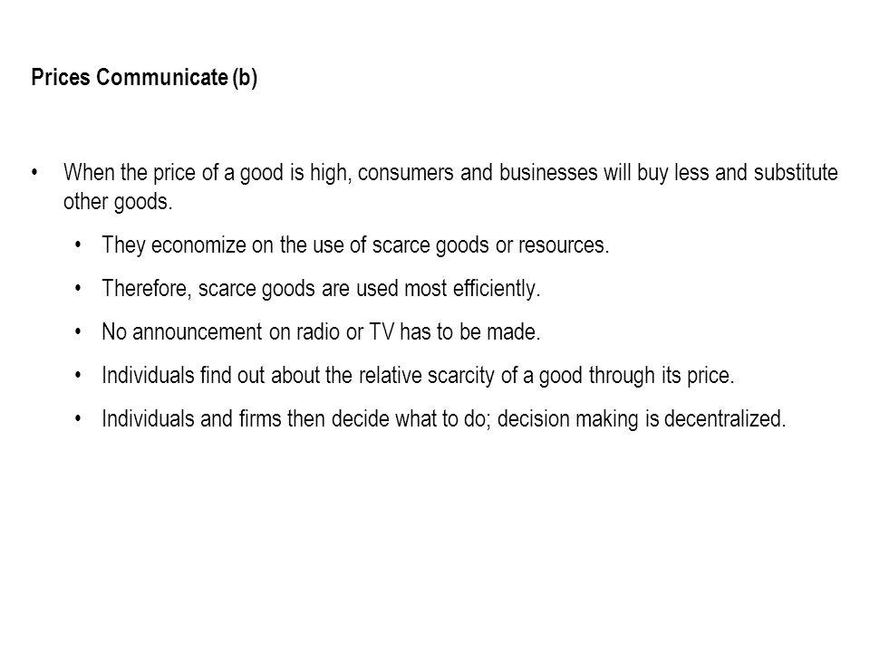 Prices Communicate (b)