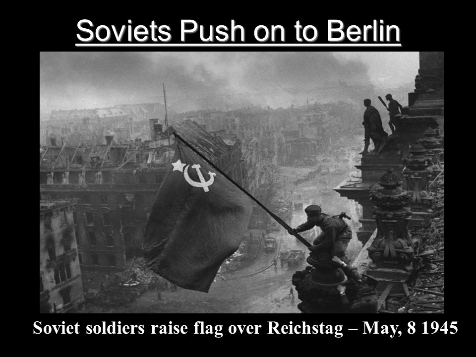 Soviets Push on to Berlin