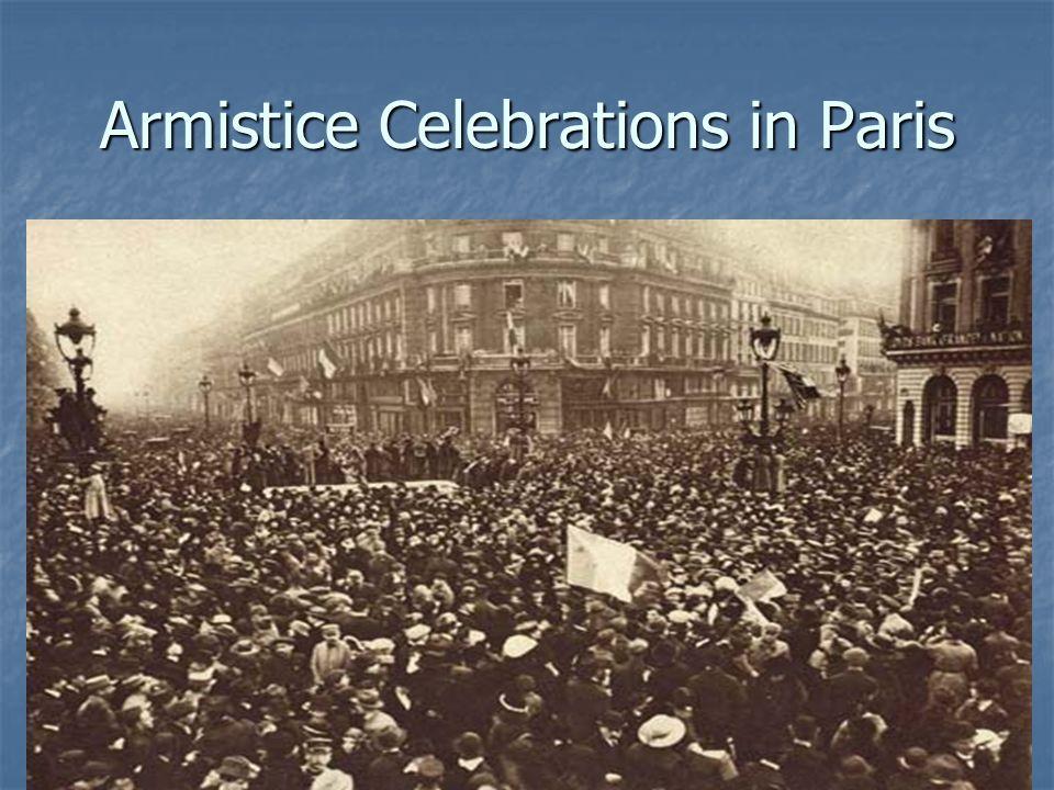 Armistice Celebrations in Paris