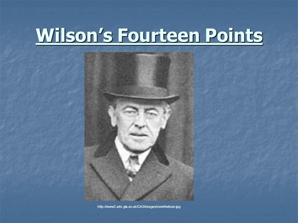 Wilson's Fourteen Points