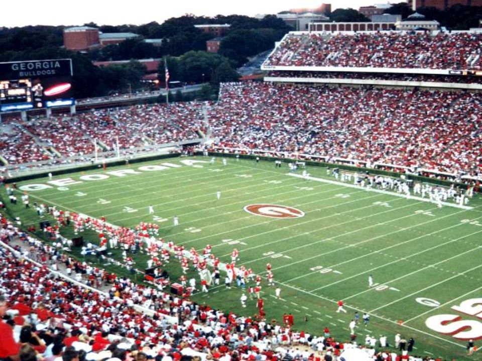 Sanford Stadium – WORSHIP!