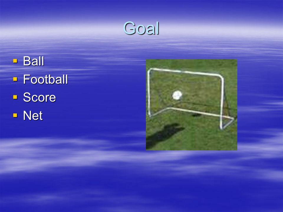 Goal Ball Football Score Net