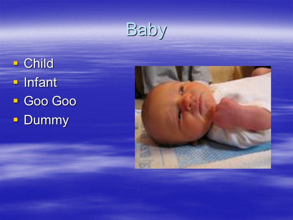 Baby Child Infant Goo Goo Dummy