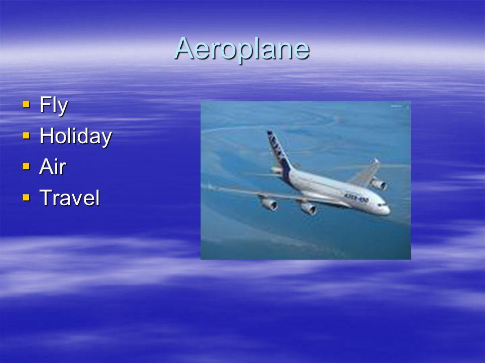 Aeroplane Fly Holiday Air Travel