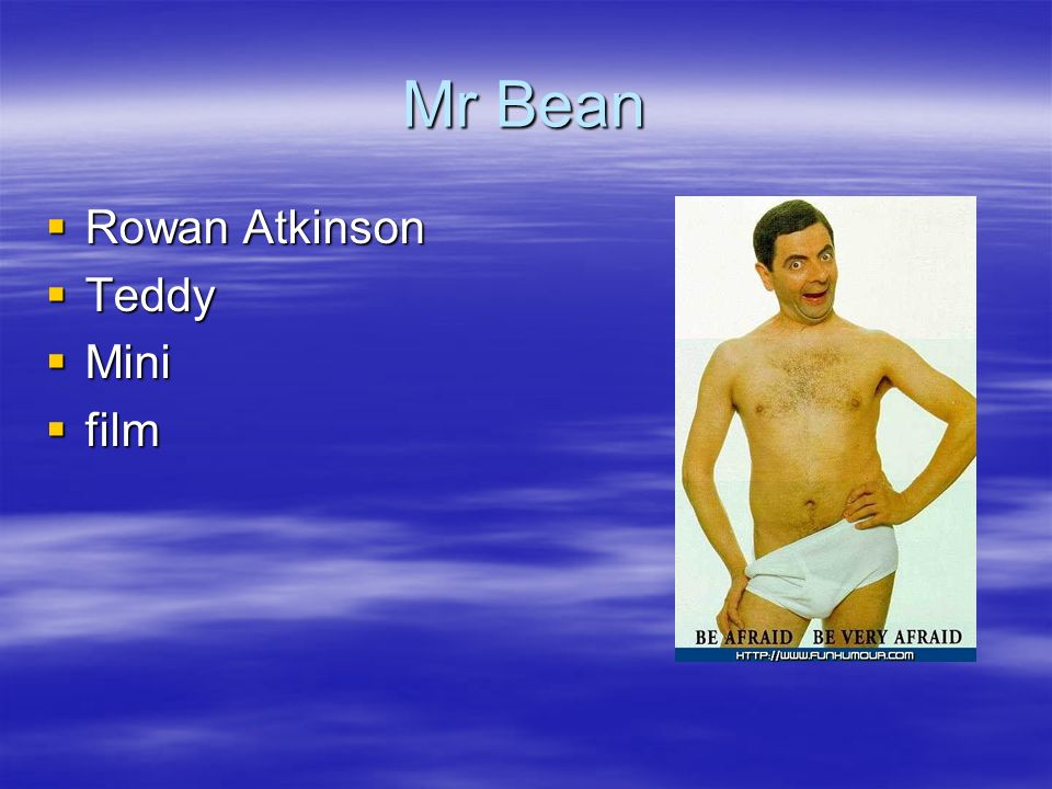 Mr Bean Rowan Atkinson Teddy Mini film