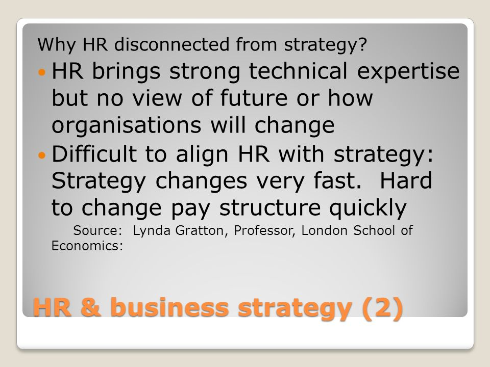 HR & business strategy (2)