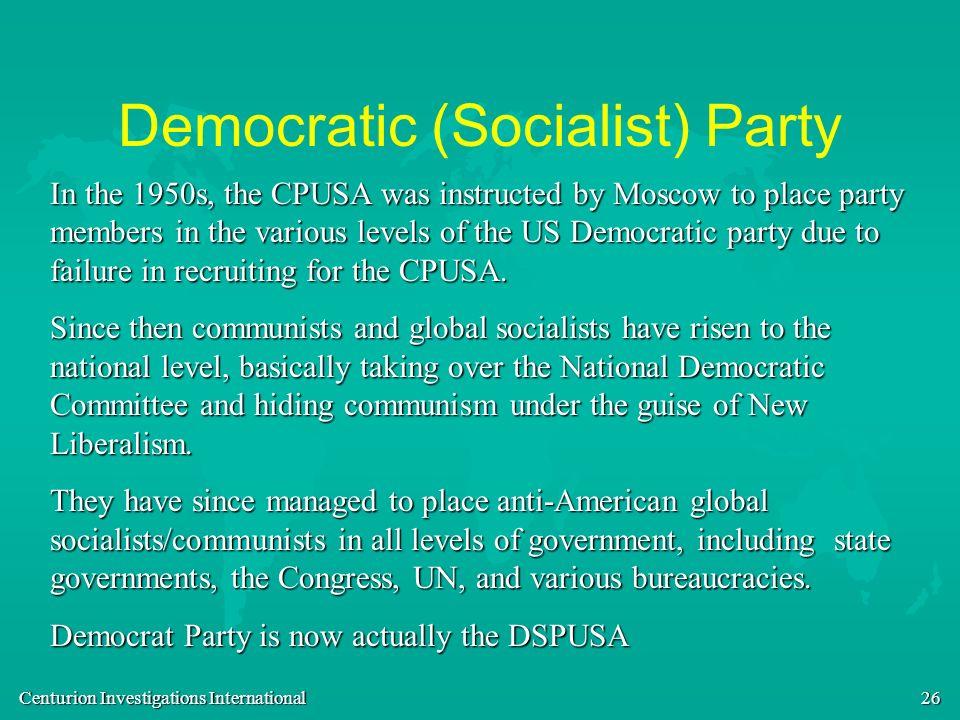 Democratic (Socialist) Party