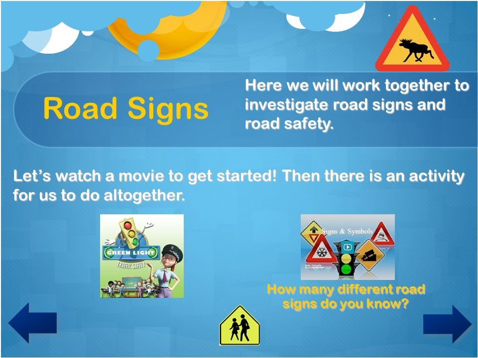 How many different road signs do you know
