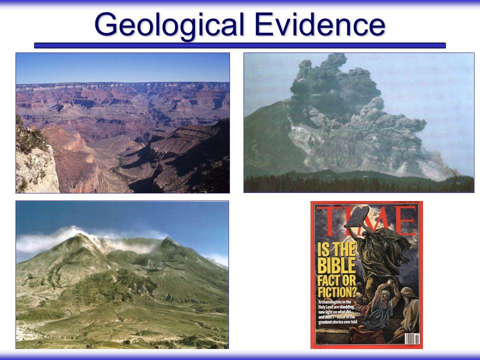 Geological Evidence