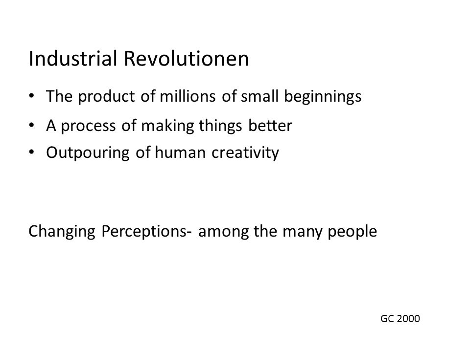 Industrial Revolutionen