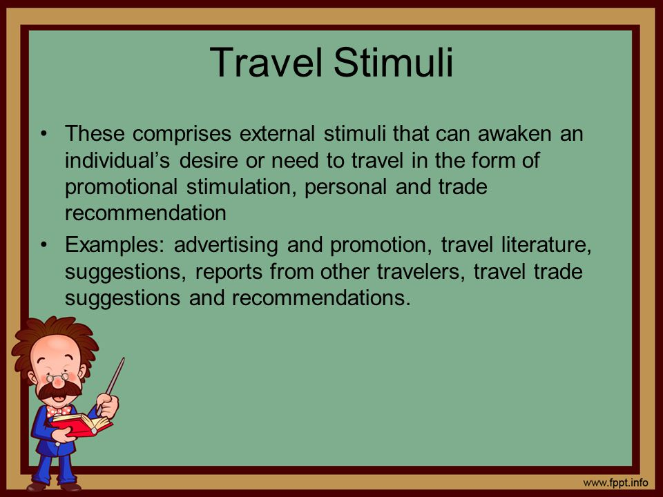 Travel Stimuli