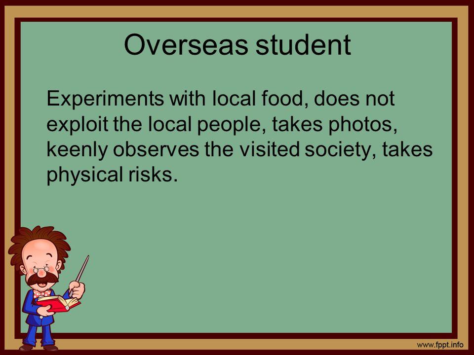 Overseas student