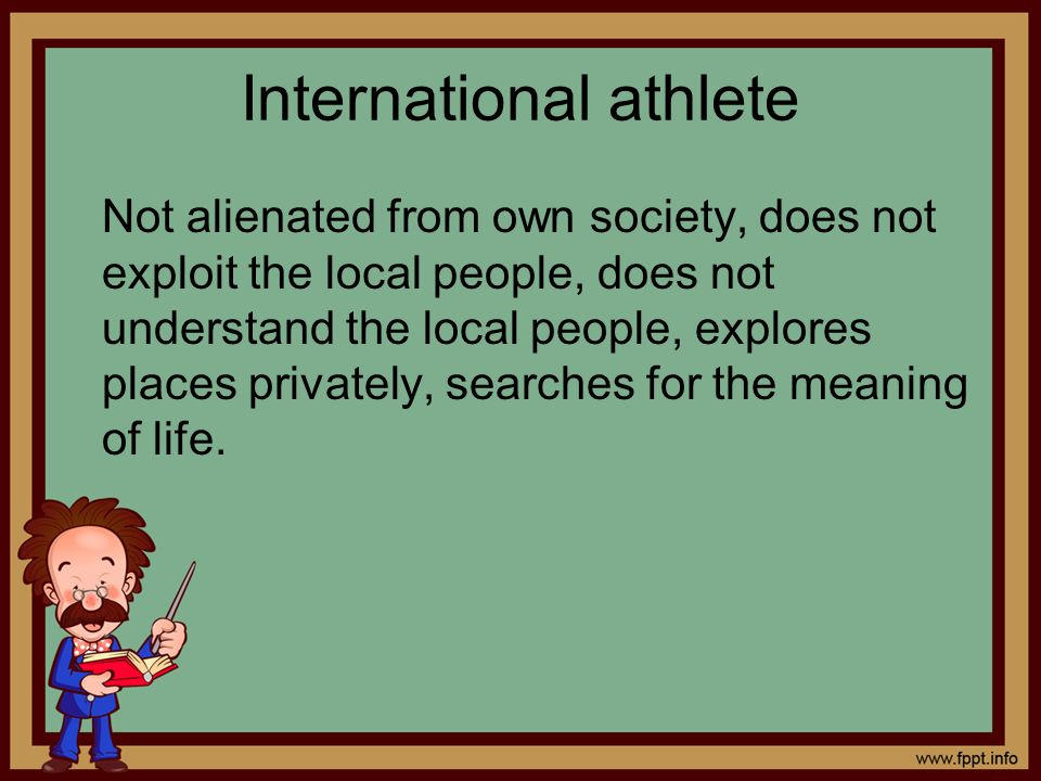 International athlete
