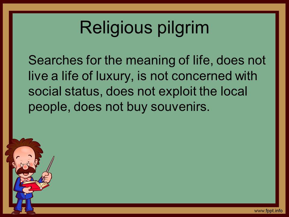 Religious pilgrim
