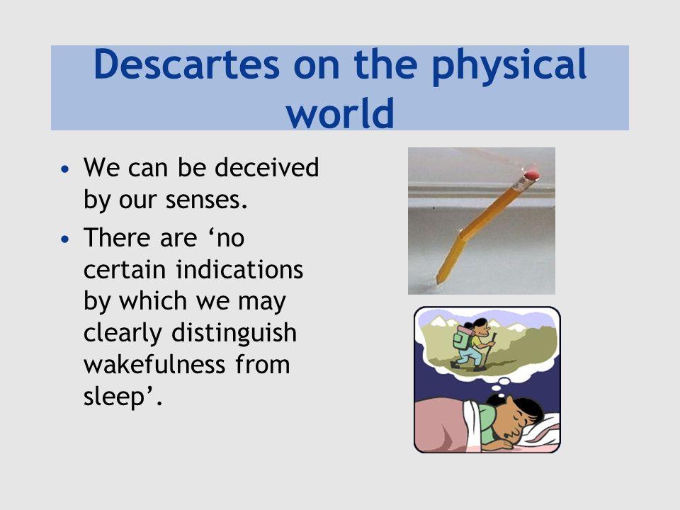 Descartes on the physical world