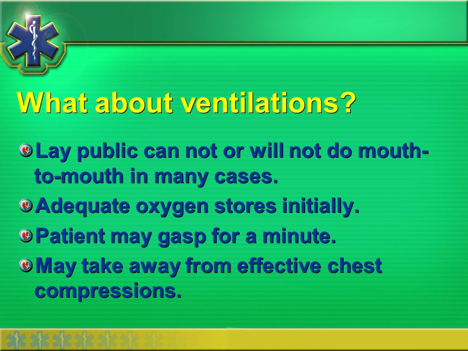 What about ventilations