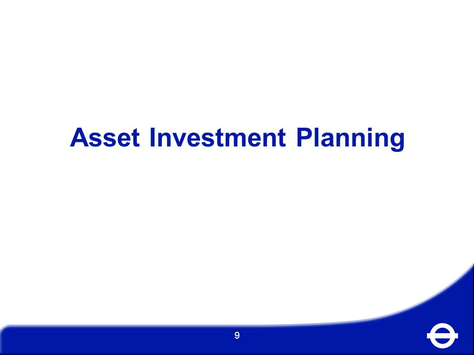 Asset Investment Planning