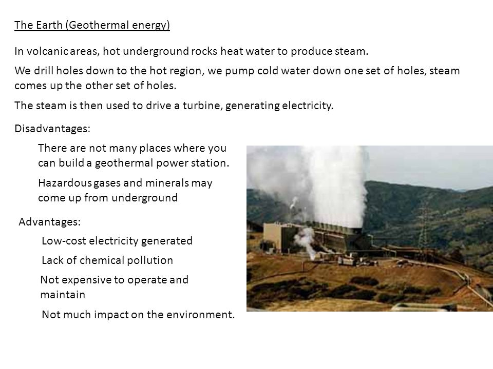 The Earth (Geothermal energy)