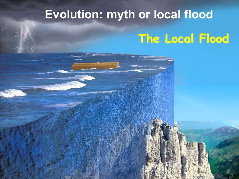 Evolution: myth or local flood