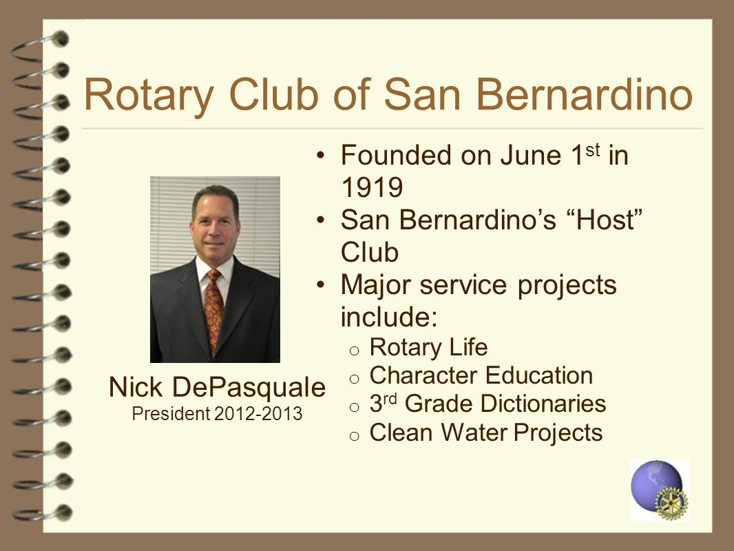 Rotary Club of San Bernardino