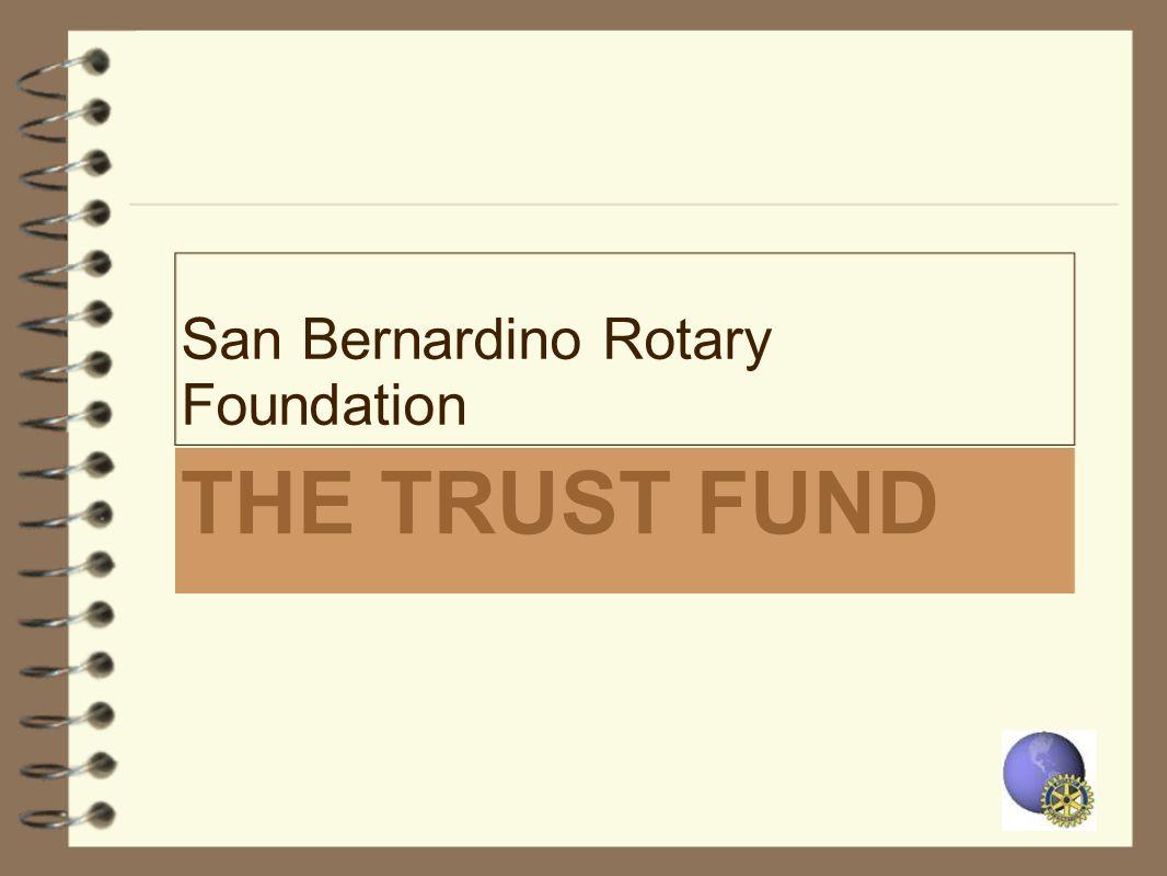 San Bernardino Rotary Foundation