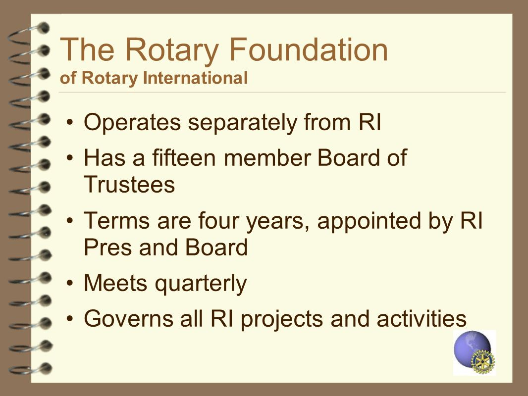 The Rotary Foundation of Rotary International
