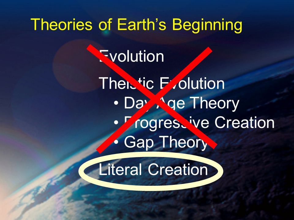 Theories of Earth's Beginning