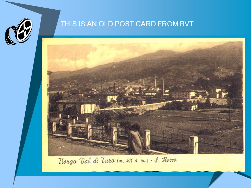 THIS IS AN OLD POST CARD FROM BVT