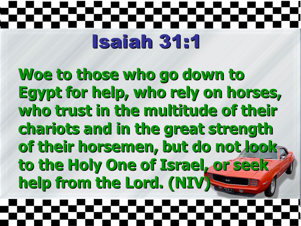 Isaiah 31:1