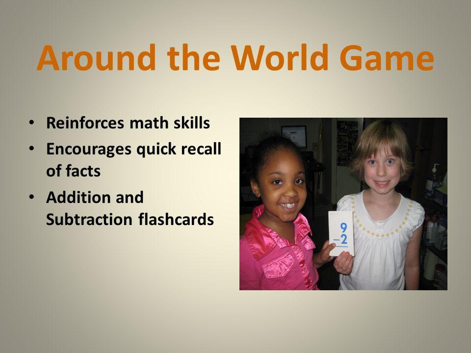Around the World Game Reinforces math skills