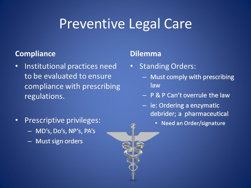 Preventive Legal Care Compliance Dilemma