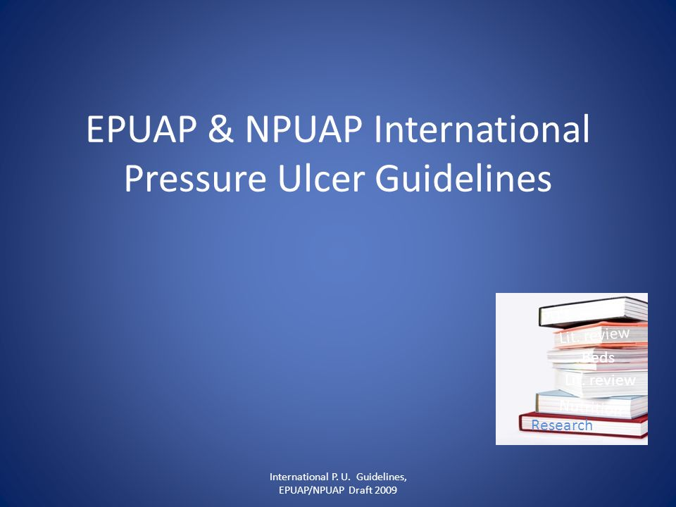 EPUAP & NPUAP International Pressure Ulcer Guidelines