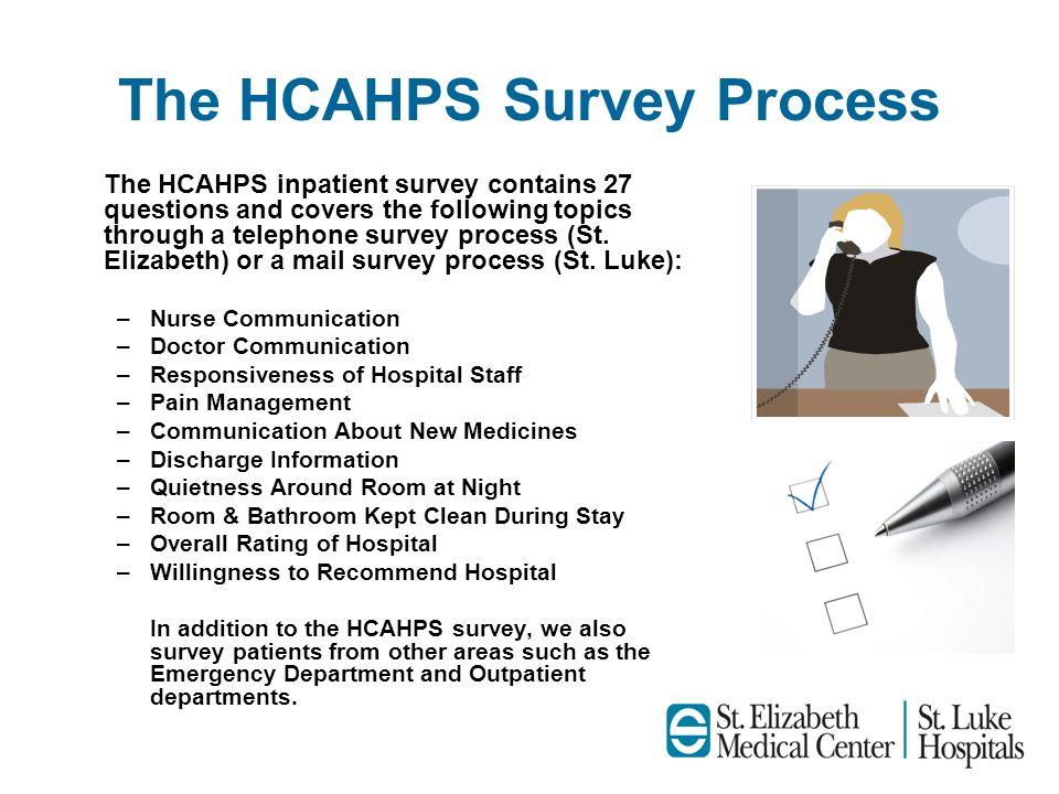 The HCAHPS Survey Process