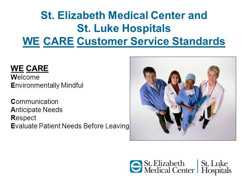 St. Elizabeth Medical Center and St