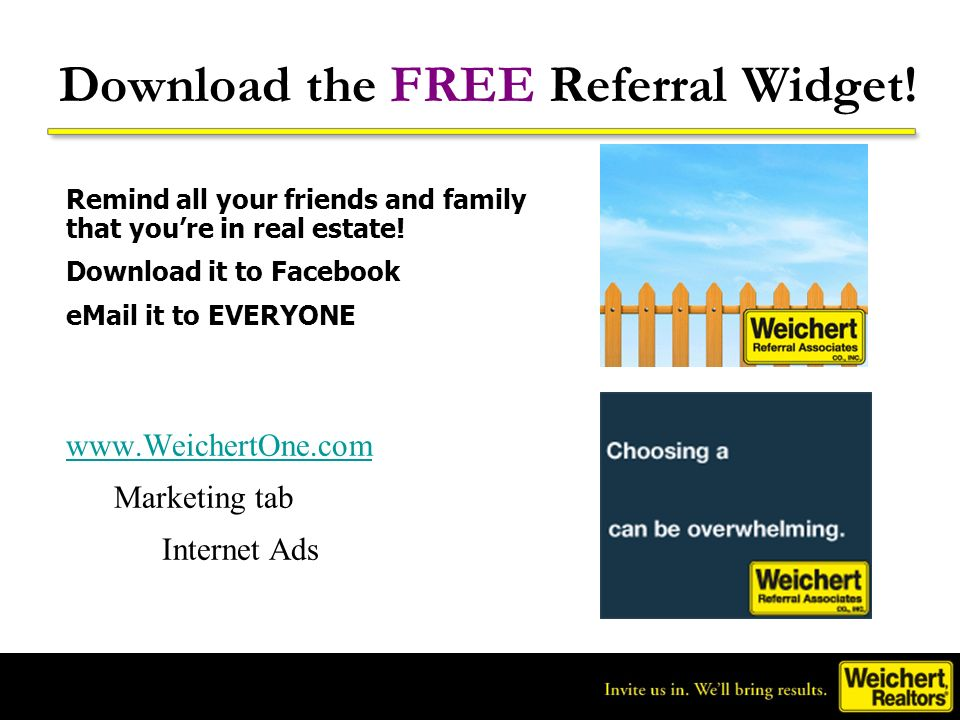 Download the FREE Referral Widget!
