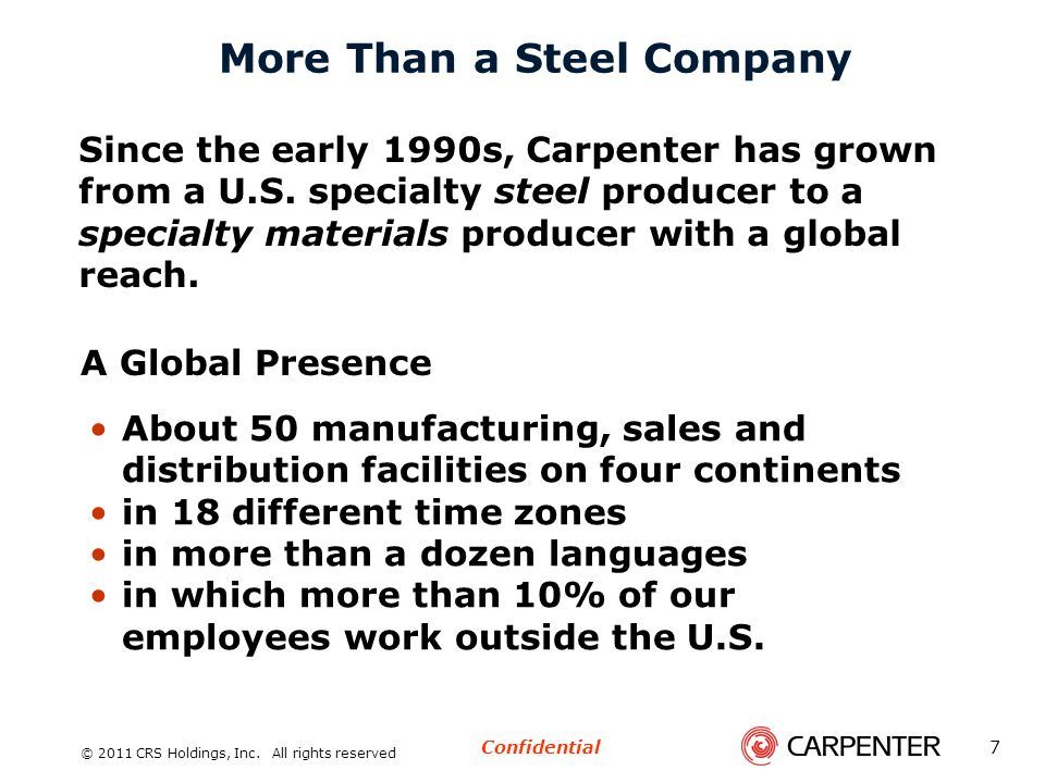 More Than a Steel Company