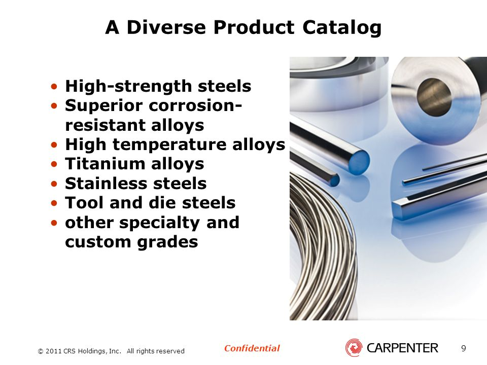 A Diverse Product Catalog