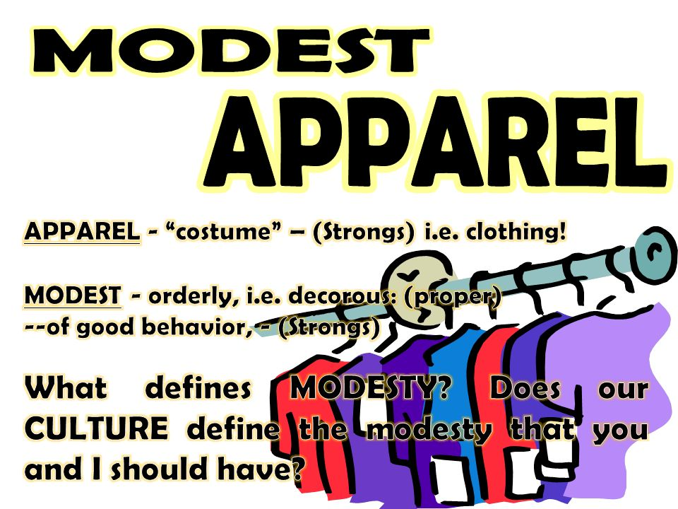 MODEST MODEST APPAREL APPAREL