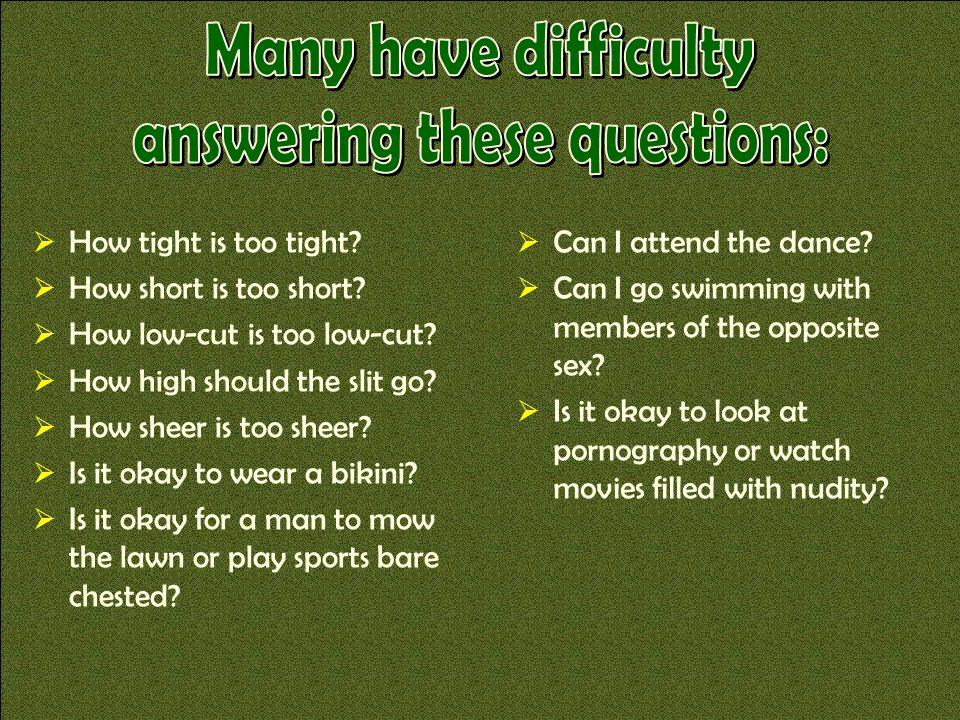 answering these questions: