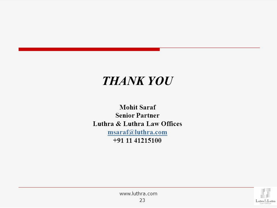 Luthra & Luthra Law Offices