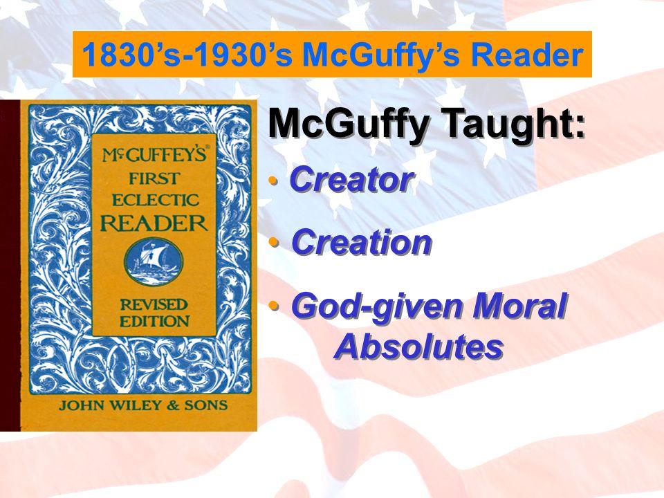 1830's-1930's McGuffy's Reader