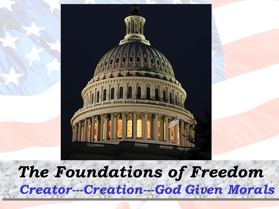 The Foundations of Freedom