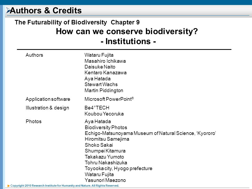 How can we conserve biodiversity