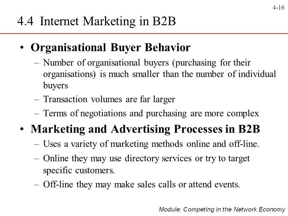4.4 Internet Marketing in B2B