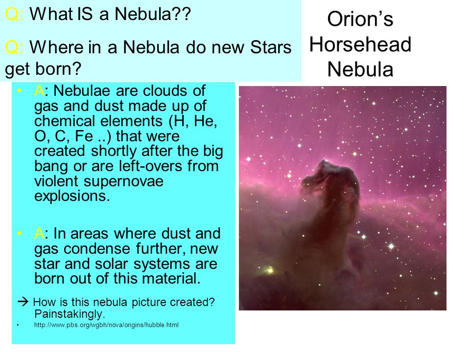 Orion's Horsehead Nebula