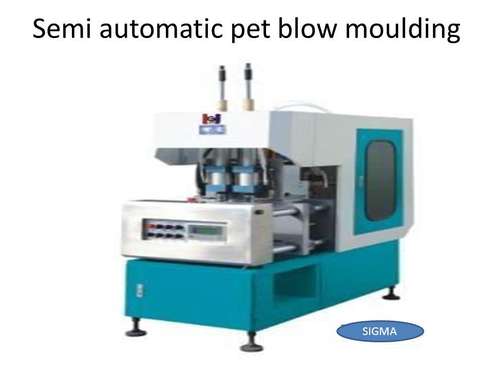 Semi automatic pet blow moulding mc