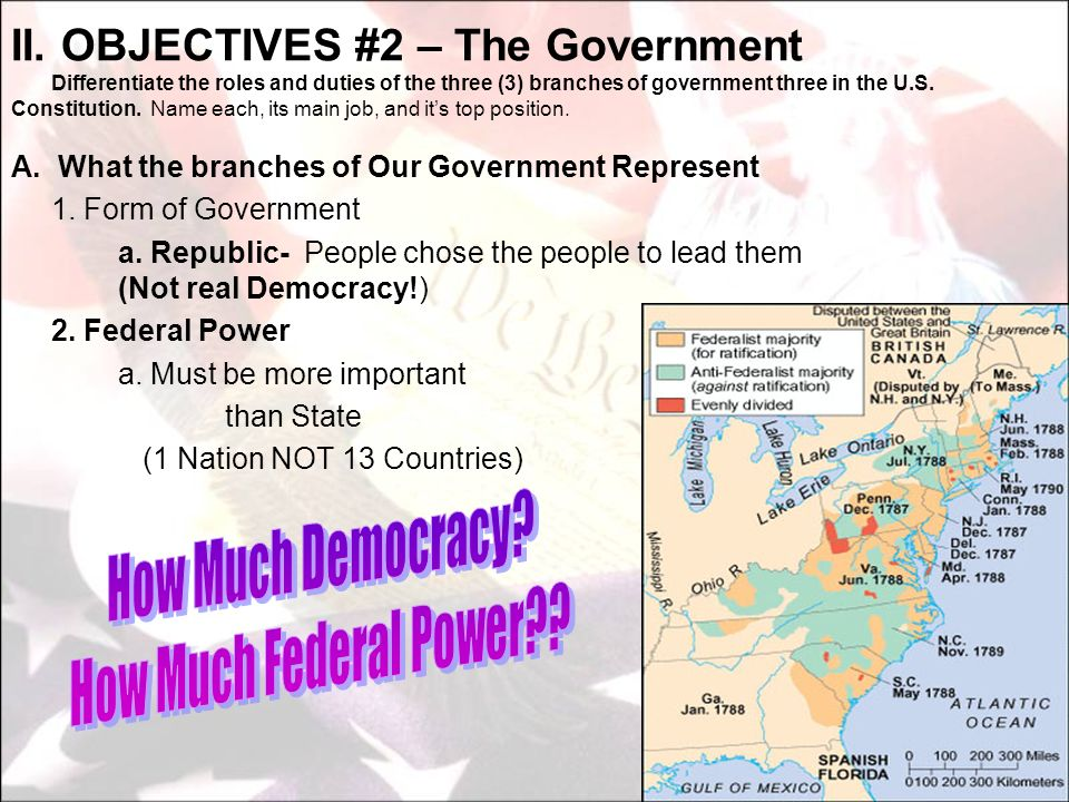 How Much Democracy How Much Federal Power